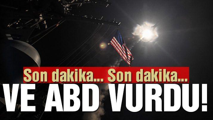 Son Dakika Ve Abd Suriye Yi Vurdu Cehennem Kapilari